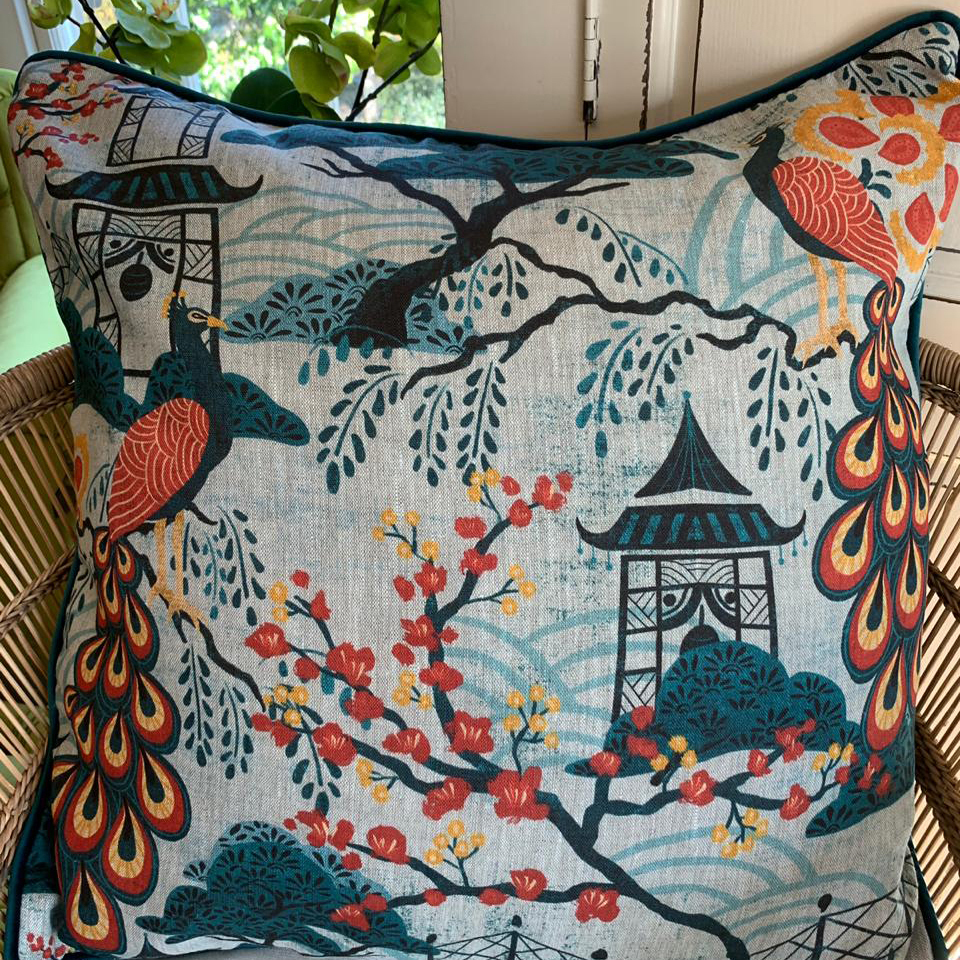 AA15 Ancient Asian Scatter Cushions