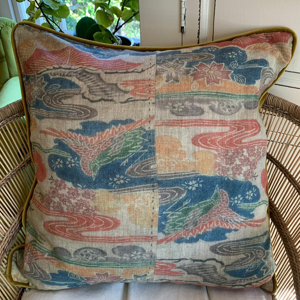 AA7 Ancient Asian Scatter Cushions