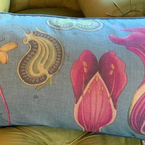Pink Arum Rectangular Scatter Cushion