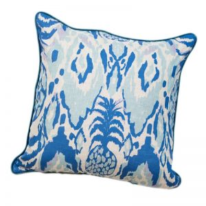 Blue pineapple Ikat